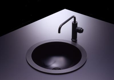 丸型洗面器 黒